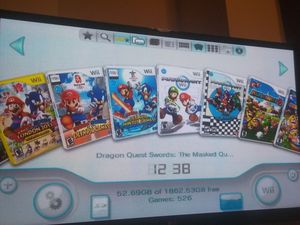 2 TB modded Nintendo wii 525 Wii 635 gamecube for Sale in Irving, TX