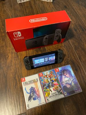 Nintendo Switch V2 w/ 4 Games Bundle! for Sale in Poway, CA