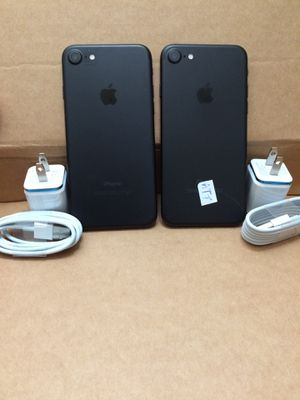 iPhone 7,32gb att & Cricket only -$320 both,$160 each firm no trade, nothing wrong with them for Sale in Sacramento, CA