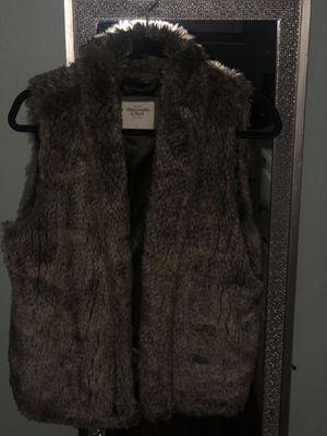 Abercrombie fur vest for Sale in Hayward, CA