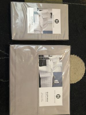 King flat sheet and two pillows for Sale in Oakton, VA