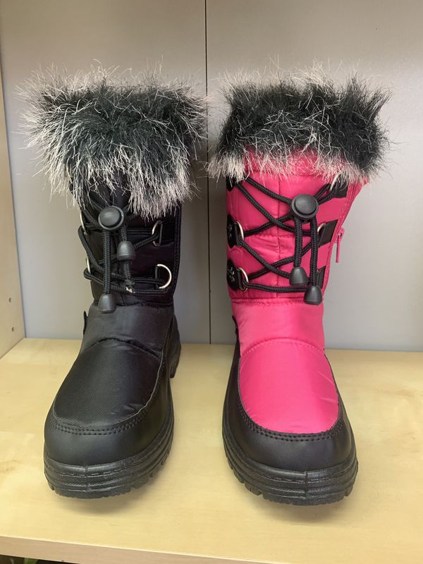 Snow boots for little girls kids sizes 9,10,11,12, 13,1,2,3,4