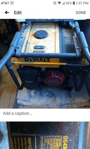 DG Dewalt 4300 Generator for Sale in NEW KENSINGTN, PA
