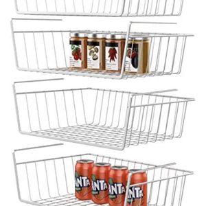 10 Under Shelf Wire Basket Stable Hanging Basket for Sale in Baldwin Park, CA