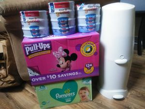 Diaper Genie Toddler Starter Kit Playtex Huggies Pampers for Sale in Orlando, FL