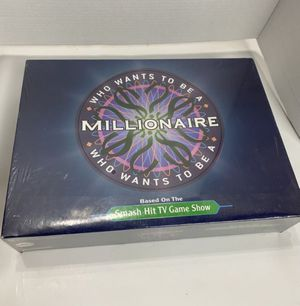 Who Wants To Be A Millionaire Trivia Board Game ABC Hit TV Game Show NEW SEALED for Sale in Chino Hills, CA