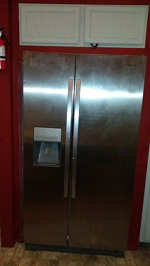 Stainless steel refrigerator for Sale in San Antonio, TX