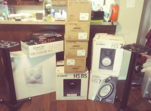 Studio compatible speakers and components for Sale in Dallas, TX