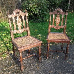 """2 dining chair """"Henry II"""" style for Sale in Port Charlotte, FL"""
