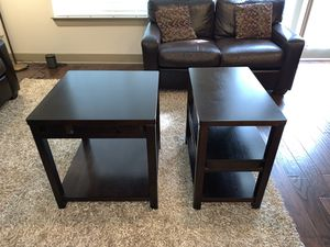 Wooden End Tables for Sale in Dallas, TX