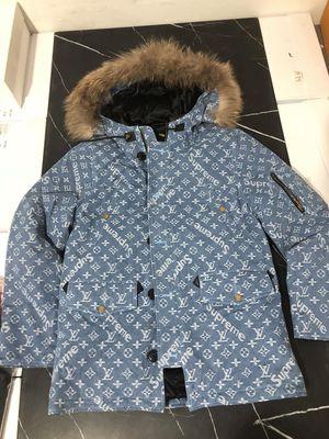 Louis Vuitton Supreme Parka Jacket !! for Sale in Chicago, IL