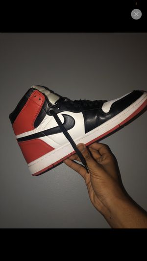 Air Jordan 1 Black Toe for Sale in Homewood, IL
