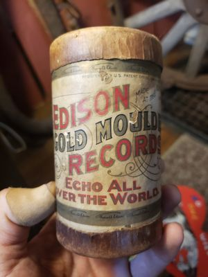 Early 1900s Thomas Edison Gold Moulded record for phonographs for Sale in Columbus, OH