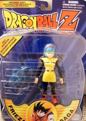 Dragon Ball Z Action Figure Bulma with Ginyu Frog Frieza Saga for Sale in Las Vegas, NV