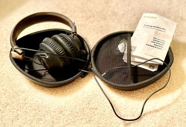 Avantree Audition Pro Low Latency Bluetooth Headphones, Black/Brown 🎧 for Sale in Glenwood, MD