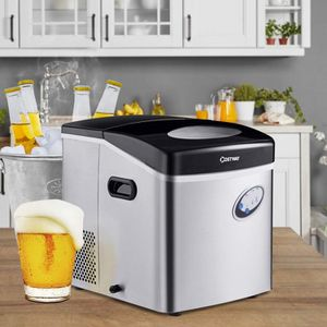 Costway Stainless Steel Ice Maker W/ 48 Lbs Productivity EP23346 for Sale in Alhambra, CA