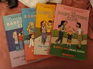 4 BABYSITTER'S CLUB HB BOOKS for Sale in Abingdon, VA