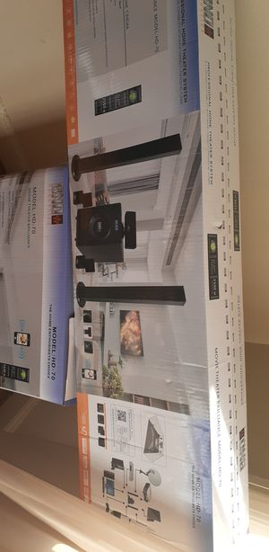bno acoustics 5.1 model hd 70 with bluetooth for Sale in Detroit, MI