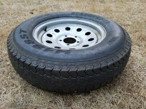 Trailer wheel and tire 205 75 15 for Sale in Tacoma, WA