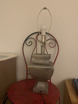 Silver lamp for Sale in Los Angeles, CA