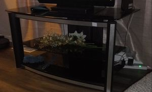 Glass TV stand for Sale in Saint Charles, MD