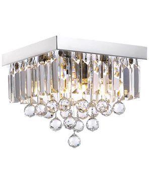 Crystal Chandelier Lighting for Hallway Modern Raindrop Design Ceiling Light Fixture Lamp Kitchen for Sale in Toledo, OH