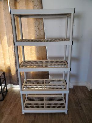 sturdy plastic shelving for Sale in Phoenix, AZ