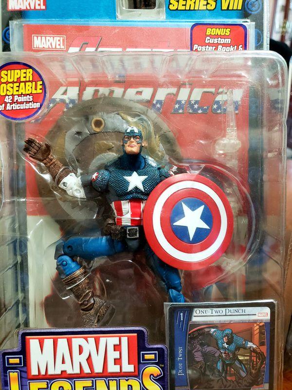 Captain American, Marvel Legends, Toybiz series 8