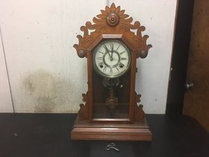 Antique E.N Welch Mantle clock works for Sale in Saugus, MA