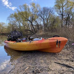 Perception Pescador Pilot Fishing Kayak With Pedal Drive for Sale in Waxahachie, TX