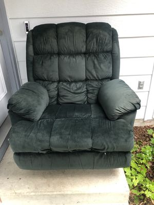 Green recliner for Sale in Seattle, WA