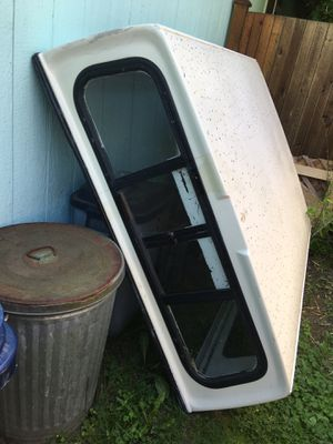 5x6 camper shell - Fits small truck like ranger. Make offer for Sale in Mount Vernon, WA
