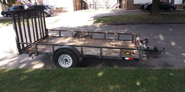 6x10 utility trailer with ramp