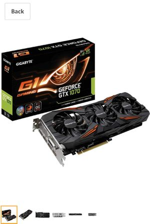 GTX 1070 G1 Gaming Edition for Sale in Matteson, IL