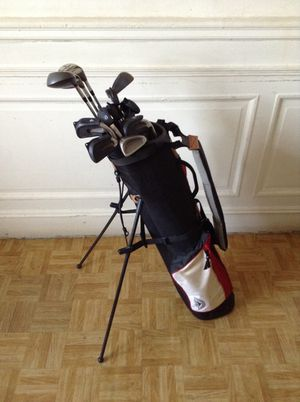 Mizuno Golf Club Set with bag, travel bag and 9 golf balls for Sale in New York, NY