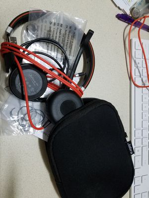 Jabra Evolve 40 UC Mono Wired USB Headset for Sale in Houston, TX