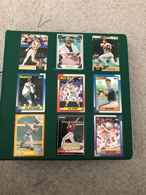 Vintage Baseball Cards still untouched (Perfect Condition) for Sale in Valley View, OH