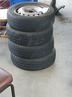 4 tires with rims 185/60/r15 for Sale in San Diego, CA