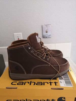 Brand new carhartt work boots for men. Size 11.5. Soft toe. for Sale in Riverside, CA
