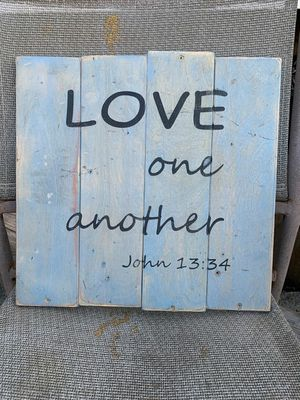 Rustic handmade sign for Sale in Lake Charles, LA