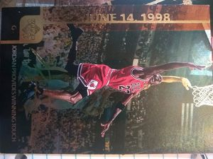 Michael Jordan cards mint great condition for Sale in Westfield, NY