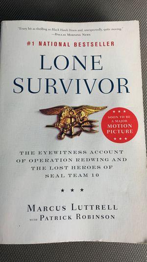 Lone survivor book for Sale in Conroe, TX