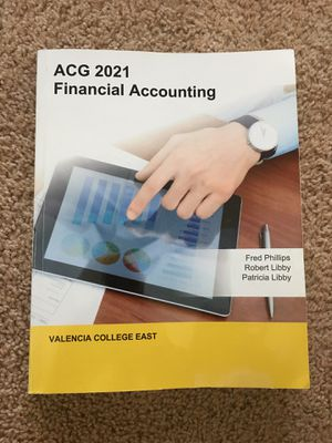 ACG 2021 Financial Accounting Valencia College East for Sale in Orlando, FL
