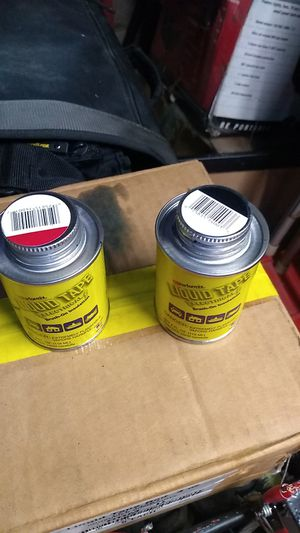 Liqued tape BLK & , Red for Sale in Garden Grove, CA