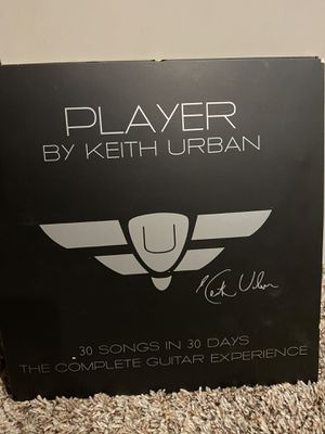 Player by Keith Urban 30 songs in 30 days. Learn to play guitar CD collection for Sale in Gresham, OR