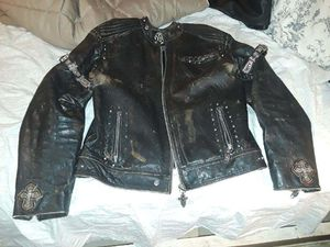 One-of-a-kind vintage jacket size extra large Buffalo hide for Sale in Las Vegas, NV