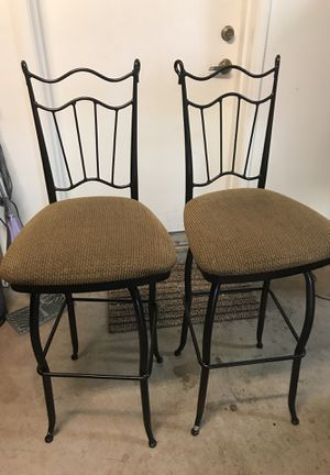Set of two swivel seat bar stools for Sale in North Las Vegas, NV