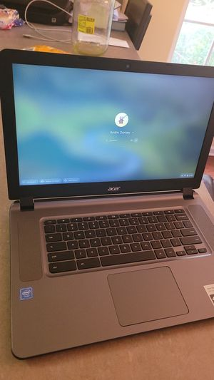 Acer Chromebook with charger for Sale in Mebane, NC
