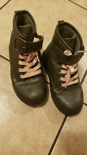 Carters Little girls combat boots 12c for Sale in Los Angeles, CA