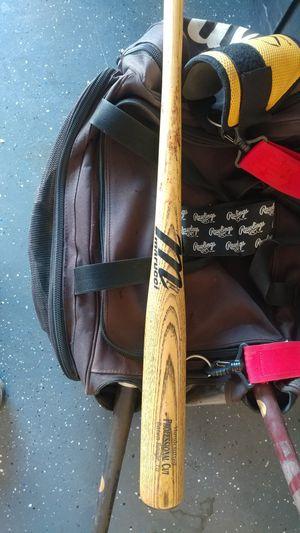 Marucci & Rawlings wood baseball bats for Sale in Tolleson, AZ